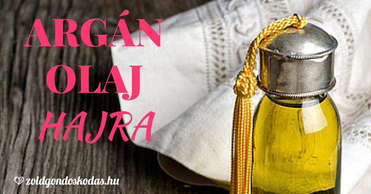 Argán olaj használata száraz töredzett hajra