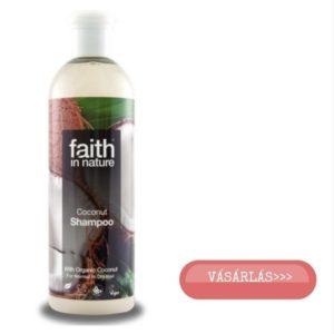 Faith in Nature kókusz hajsampon kókuszolajjal vásárlás