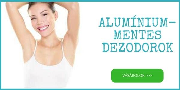 Alumínium mentes természetes bio dezodor, izzadásgátló vásárlás