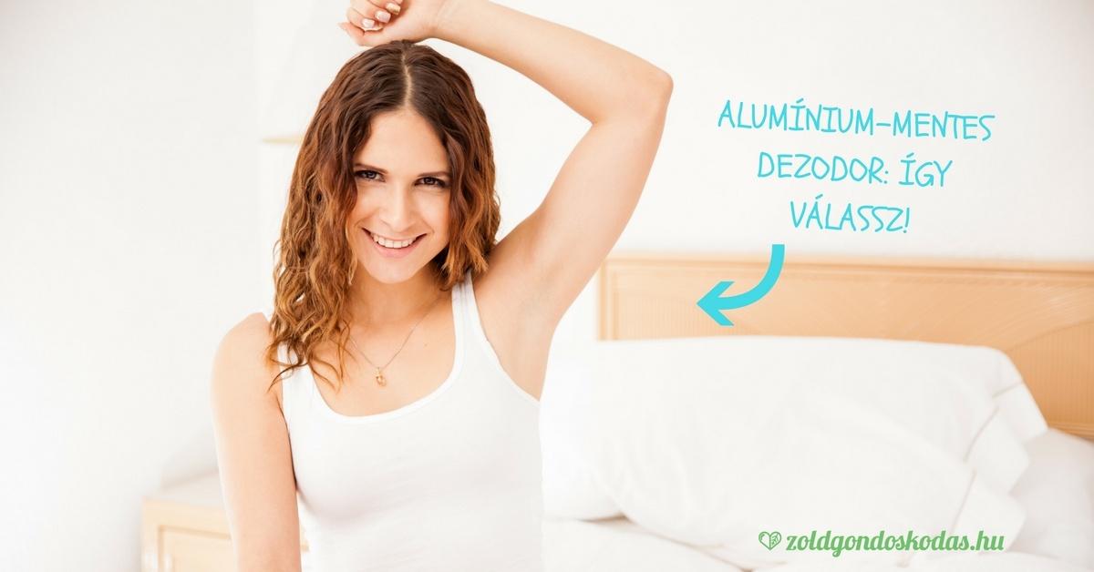 Alumínium mentes, parabén-mentes dezodor és izzadásgátló: teafaolaj, szodabikarbóna, bio, természetes - így válassz!