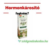 Feketelista: Hormonkárosító fogkrém?
