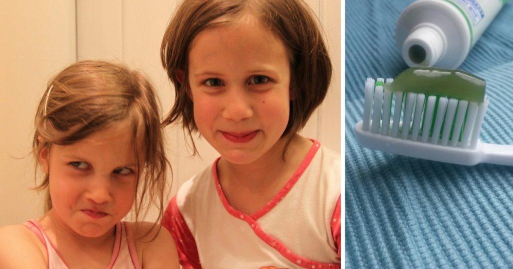 Fluoridmentes logodent fodormenta gyerek fogkrém íz teszt