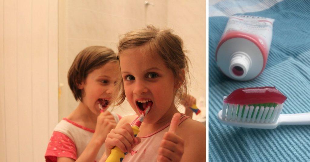 Fluoridmentes Lavera eper-málna gyerek-fogkrém íz teszt