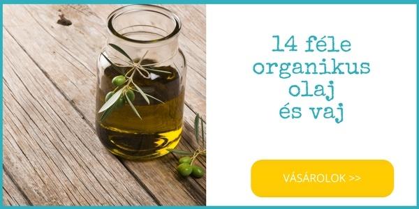 14 féle bio organikus olaj vásárlása