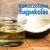 Házi kozmetikum: Tápláló hajpakolás kókuszolajjal