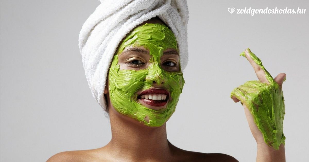 Ránctalanító, feszesítő arcmaszk házilag avokádóval