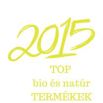 2015 legnépszerűbb natúr és bio termékei: fogkrém, dezodor, tusfürdő