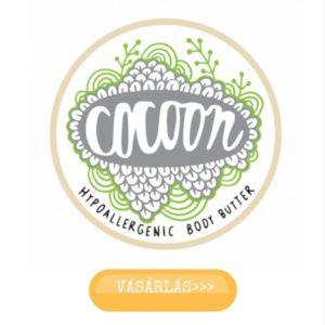 Cocoon shea vaj és kakaóvaj testvaj, akár popsikrémként az ekcémás babának