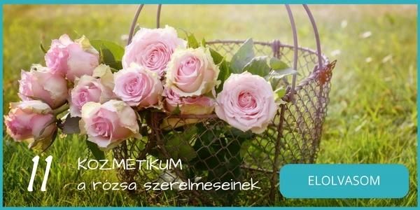 11 rózsavizes, rózsás natúr, bio kozmetikum