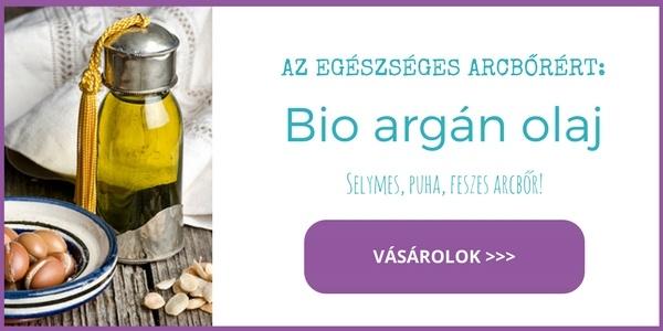 Bio argán olaj a selymes feszes bőrért arcra és szemkörnyékre - vásárlás