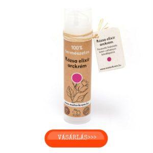 Eszterkrém natúr arckrém bio rózsavízzel száraz és vízhiányos bőrre