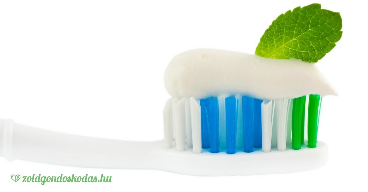 Natúr, bio fluoridmentes fogkrém választása sls, triklozán és parabén nélkül