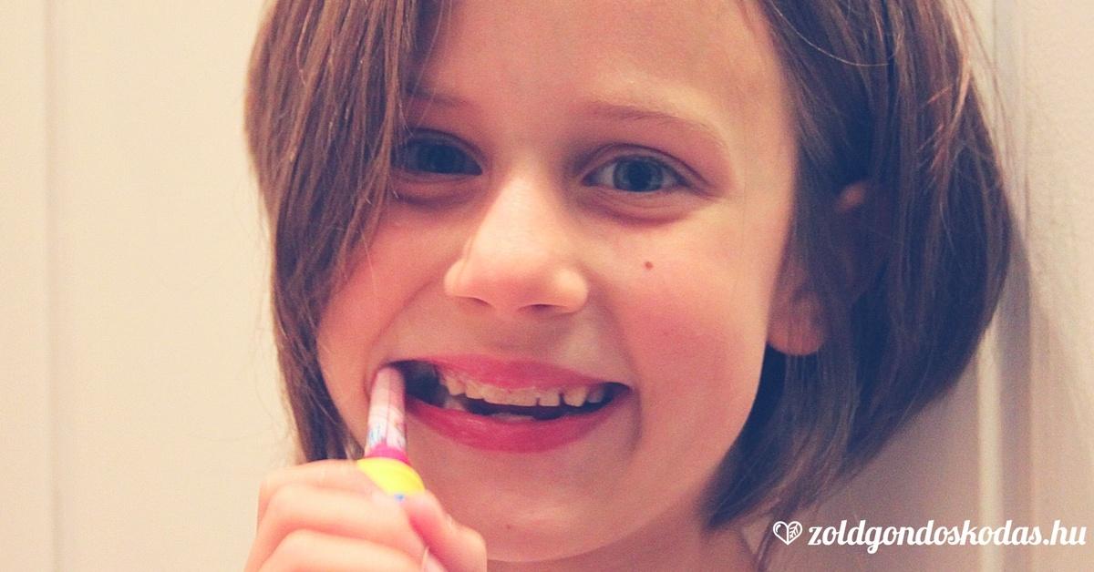 Fluoridmentes és sls mentes baba és gyerek fogkrém íz teszt