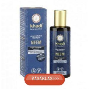 Khadi sls-mentes neem sampon viszkető fejbőrre