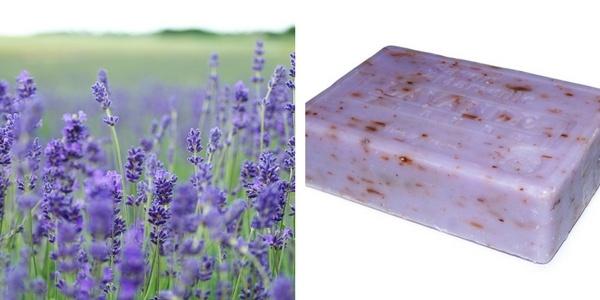 Mézes levendulás szappan házilag elkészítve recepttel
