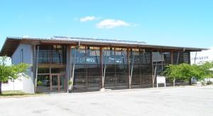 Urtekram dán bio kozmetikum gyártó épülete