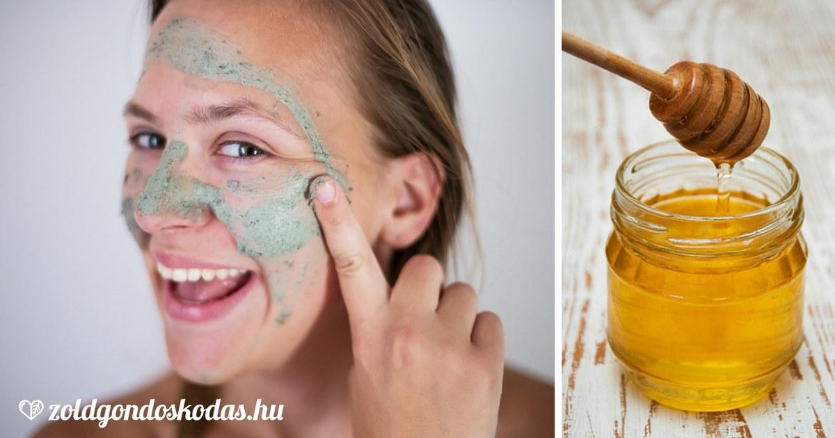 Hámlasztó arcmaszk házilag, diy mézzel