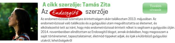 Az Endosegítő blog szerzője Tamás Zita
