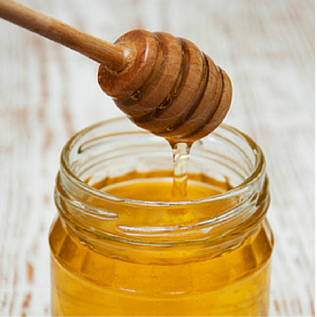 Méz-zab-kókuszolaj-arcradír hidratálásra