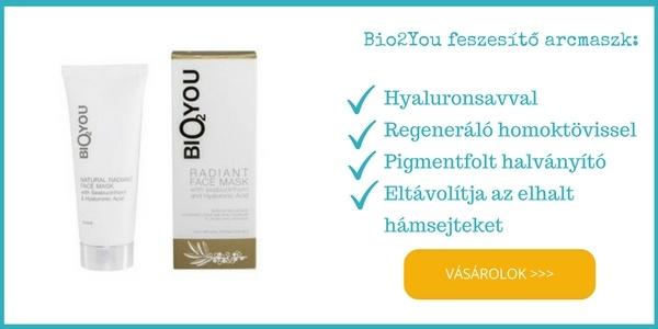 Bio2you feszesítő, ránctalanító bio arcmaszk