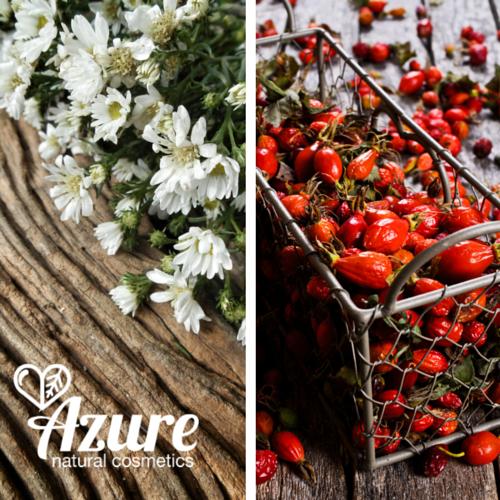 Azure Tiszta bio natúr folyékony szappan csipkebogyóval és kamillával érett bőrre