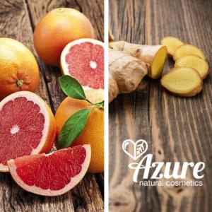 Azure energia férfi natúr tusfürdő bio grapefruittal és bio gyömbérrel, bio olívaolajjal