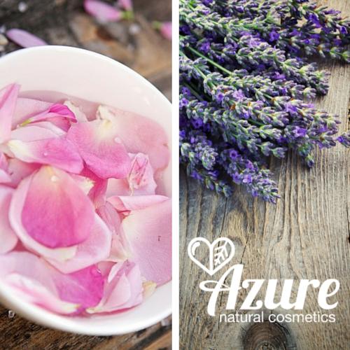 Azure Nyugi bio natúr női tusfürdő rózsával, levendulával, olívaolajjal érzékeny, vízhiányos bőrre
