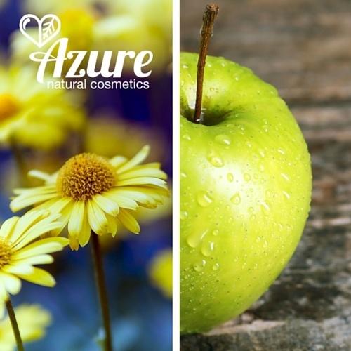 Azure Gyerek fürdető, tusfürdő bio almával és bio árnikával olívaolajjal kisgyerek, baba
