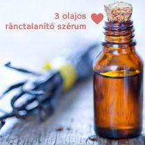 Kozmetikum házilag: 3 olajos ránctalanító szérum