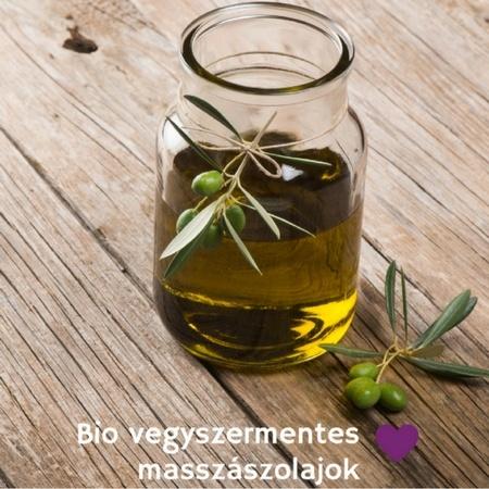 Bio, vegyszermentes masszázsolaj