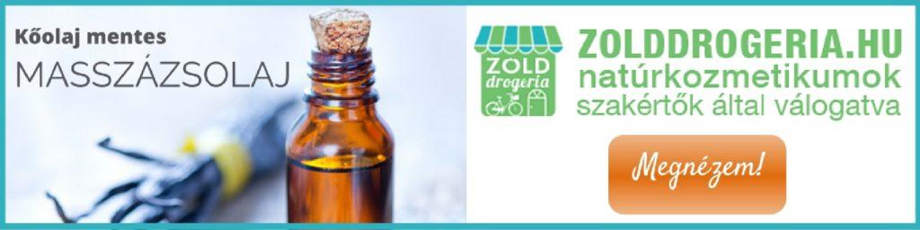 Kőolaj-mentes, vegyszermentes natúr masszázsolaj paraffin nélkül