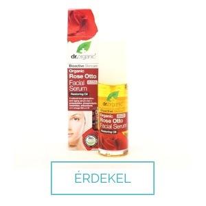 Dr Organic rózsás szérum csipkebogyó olajjal zsíros bőrre