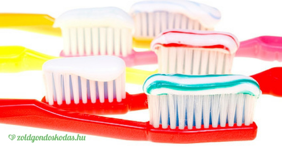Infografika: veszélyes és allergén színezékek a gyerek és felnőtt fogkrémekben