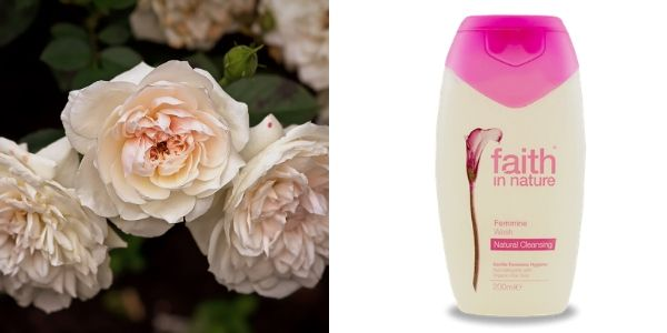 SLS-mentes rózsafás natúr intim mosakodó