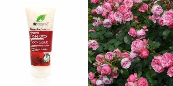 Krémes rózsás testradír