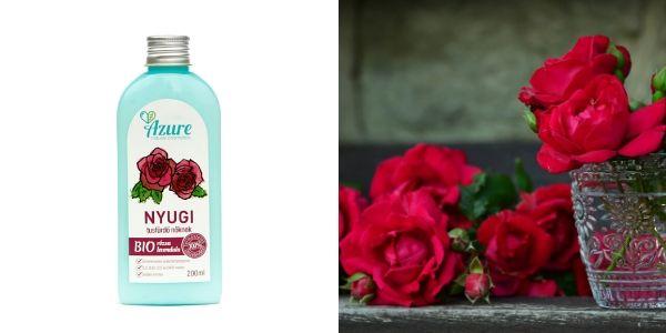 SLS-mentes rózsás natúr tusfürdő