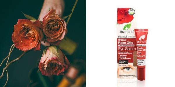 Rózsás szemránckrém szemkörnyék ápoló parabén nélkül