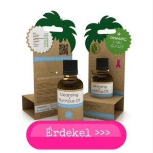 Coconutoil olajos arctisztito száraz és vízhiányos bőrre