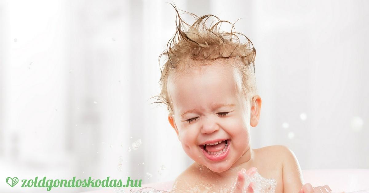 A legjobb bio és natúr baba és gyereksamponok SLS és egyéb vegyszerek nélkül