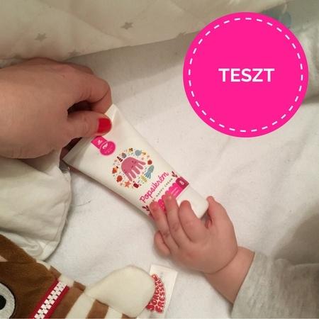 Schüssler baba fürdető és popsikrém teszt