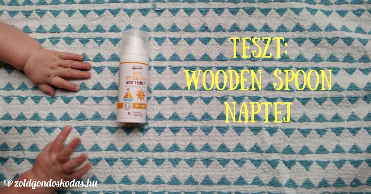 Wooden Spoon bio naptej teszt babáknak, ekcémásoknak