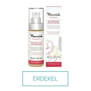 Nourish peptides, hialuronsavas bio arc szérum a ragyobó bőrért