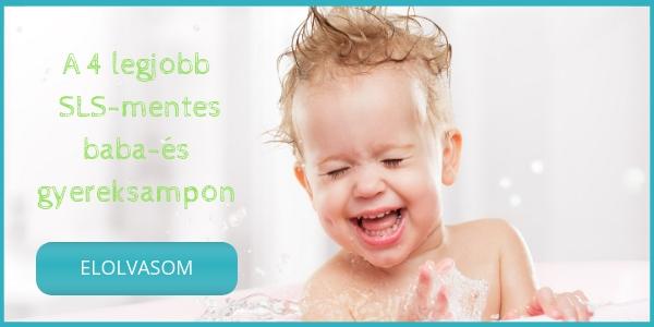 Az 5 legjobb szulfátmentes baba és gyereksampon