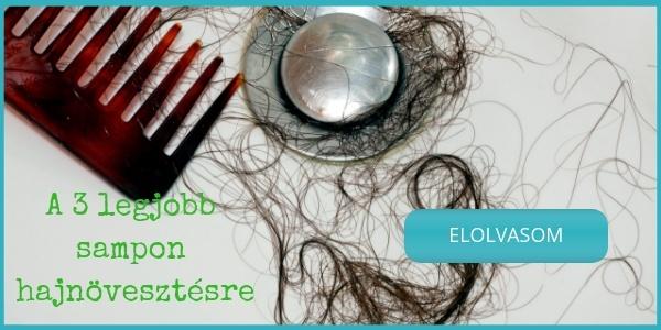 A 3 legjobb bio sampon hajhullás ellen, hajnövesztésre