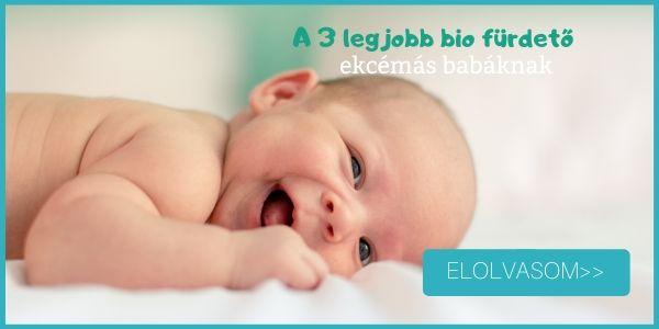 A 3 legjobb bio babafürdető ekcémás babáknak- olvasd el a cikket!