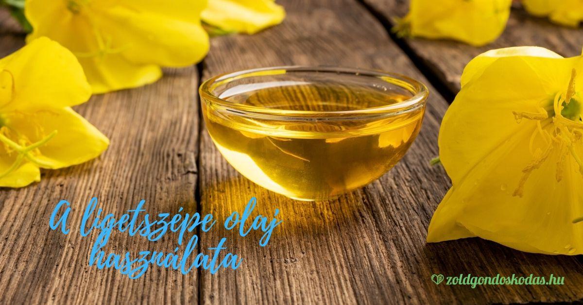 Ligetszépe olaj használata arcra, pattanásra, ekcémára