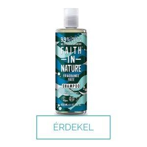 Faith in Nature parfümmentes sls mentes sampon viszkető fejbőrre, érzékeny fejbőrre